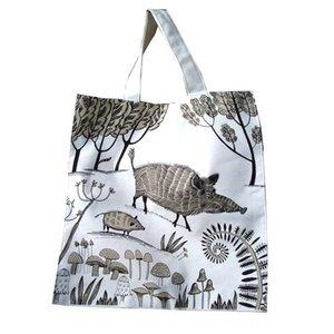 lush designs Wild Boar Canvas bag