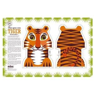 Mibo - Coq en Pate Tiger Tea Towel