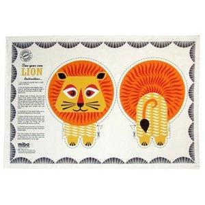 Mibo - Coq en Pate Lion Tea Towel