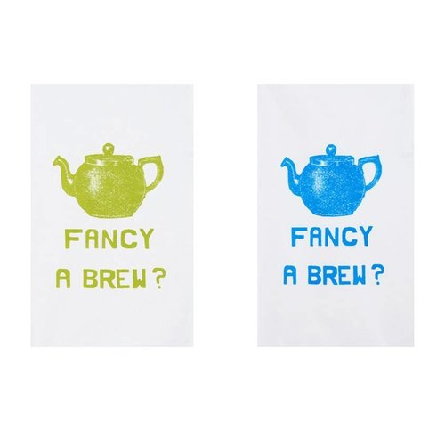 Fancy a Brew Tea Towel