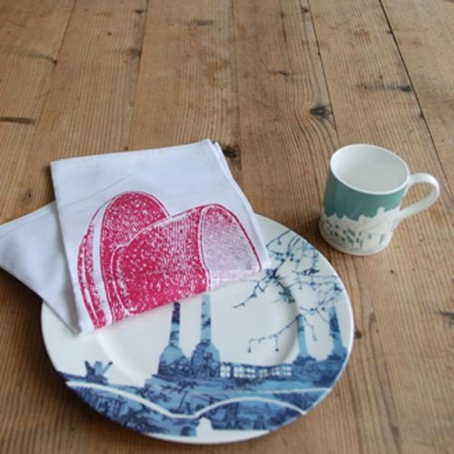 One lump or two Tea Towel