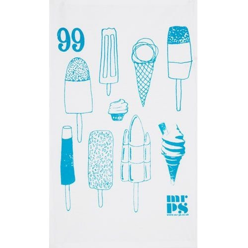 Lovely Lollies Tea Towel