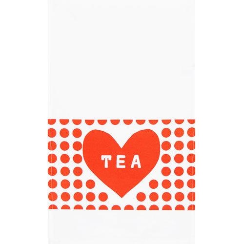 Tea Heart Tea Towel