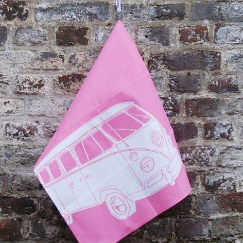 Pearl Earl Theedoek volkswagenbus