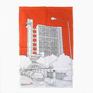 Tea Towel Trellick Tower