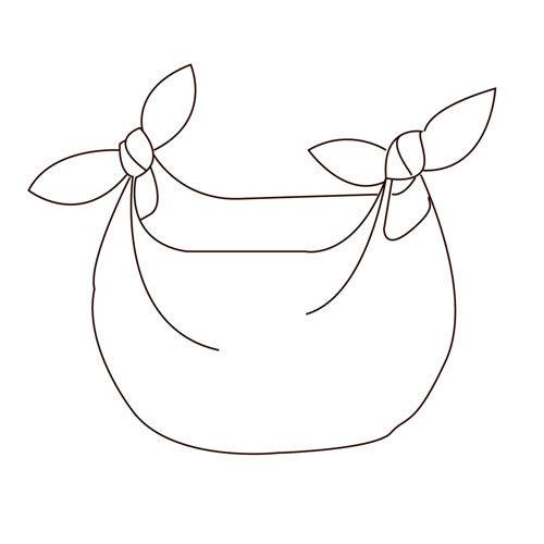 The Organic Company The Cloth  Jasmine - Furoshiki doek