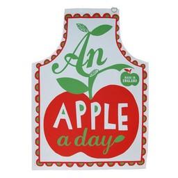 Mary Fellows - Pintuck Pintuck Apron An apple a day
