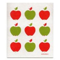 Vaatdoek Rode Appels