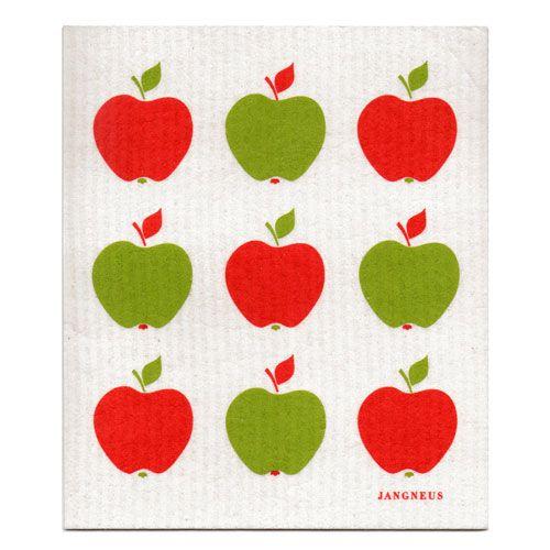 Jangneus Jangneus Dishcloth Red Apples