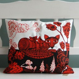 lush designs Cushion cover Fox