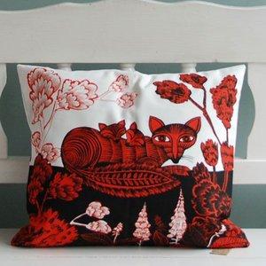 lush designs Cushion cover Fox