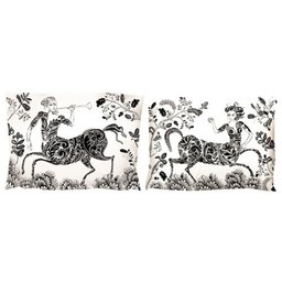 lush designs Pillow Case Centaur