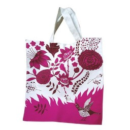 lush designs Canvas Bag Singing Bird