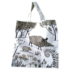 lush designs Canvas Bag Wild Boar