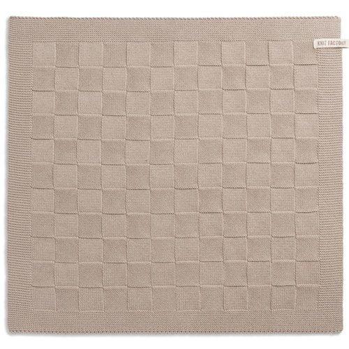 Knit Factory Knitted Kitchen Towel Blok Uni