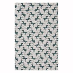 Skinny laMinx Tea towel Colts teal