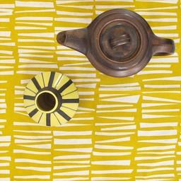 Skinny laMinx Servetten Woodpile geel