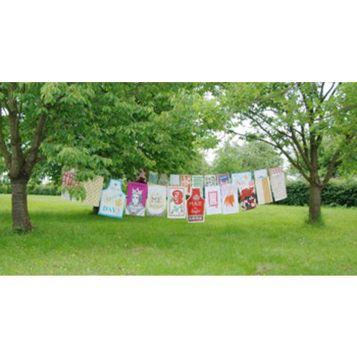 fabulous tea towels with graphic prints