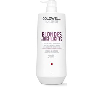Goldwell Dualsenses Blondes and Highlights Anti-Yellow Conditioner 1000ml