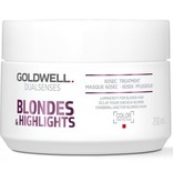 Goldwell Dualsenses Blondes and Highlights 60 Seconds Treatment 200ml