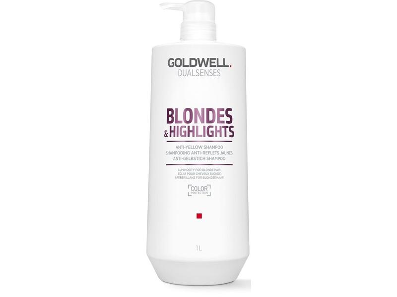 Goldwell Dualsenses Blondes and Highlights Anti-Yellow Shampoo 1000ml
