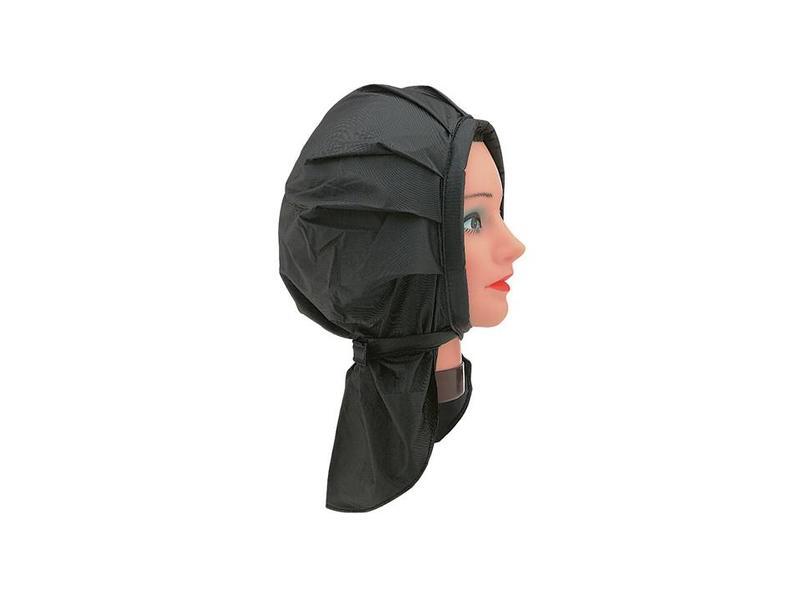 Sibel Permanent Muts PVC Zwart met Klittenband