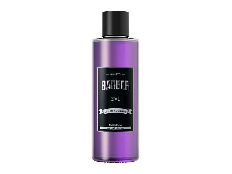 Marmara Barber Cologne  nr 1 Paars 500ml.- Glass Bottle Boxed