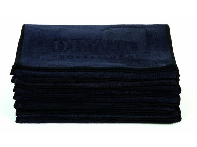 Me professional   Dry ME Microfiber Handdoek Zwart 53x85 cm - 6 Stuk