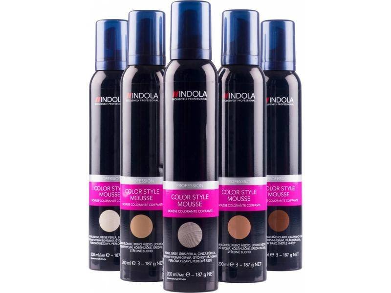 Indola Color Style Mousse 200ml