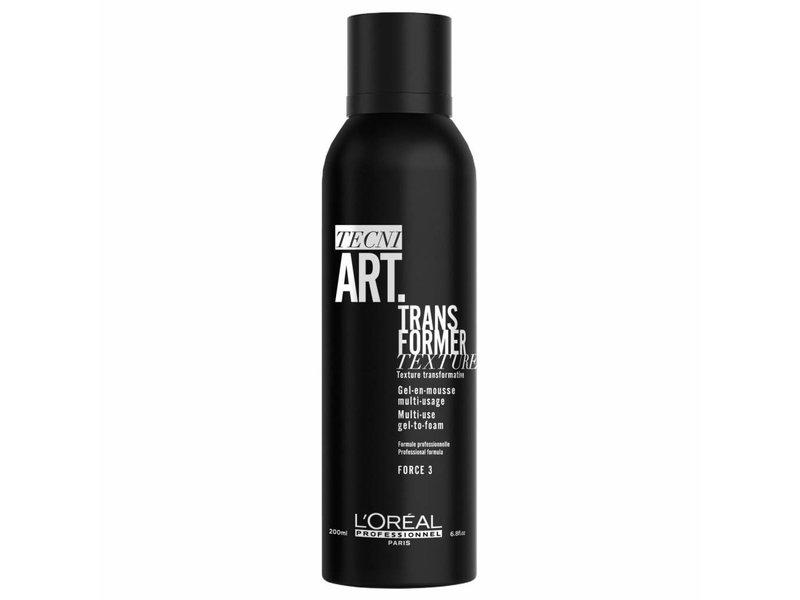 L'Oréal Professionnel Tecni.ART Transformer Gel-En-Mousse150ml