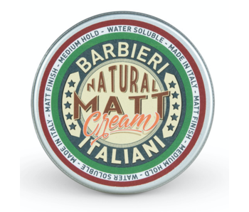 Barbieri Italiani Natural Matt Cream 100ml