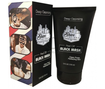 The Shave Factory Black Peel-Off Mask 150ml
