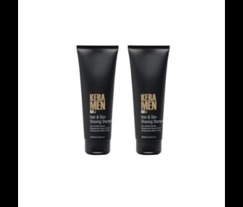 KIS  KeraMen Hair & Skin Shaving Shampoo 250ml 1+1 Gratis!