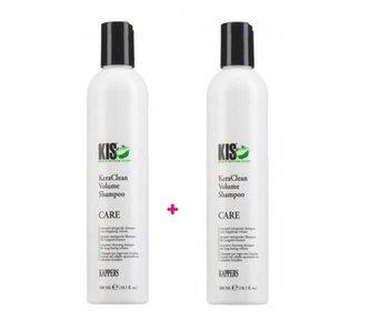 KIS  Keraclean Volume Shampoo  300ml 1+1 Gratis!
