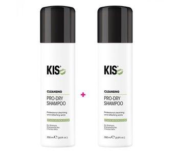 KIS  Pro Dry Shampoo 200ml  1+1 Gratis!
