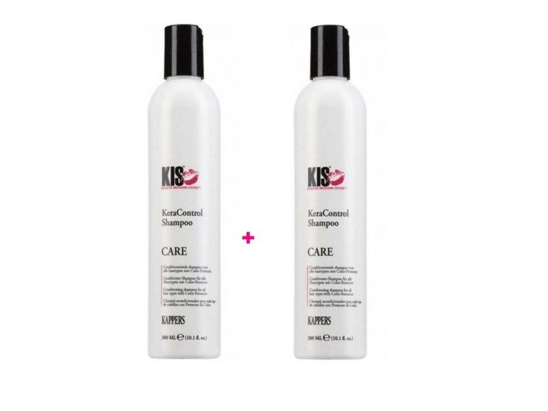 KIS  Keracontrol Shampoo 300ml 1+1 Gratis!
