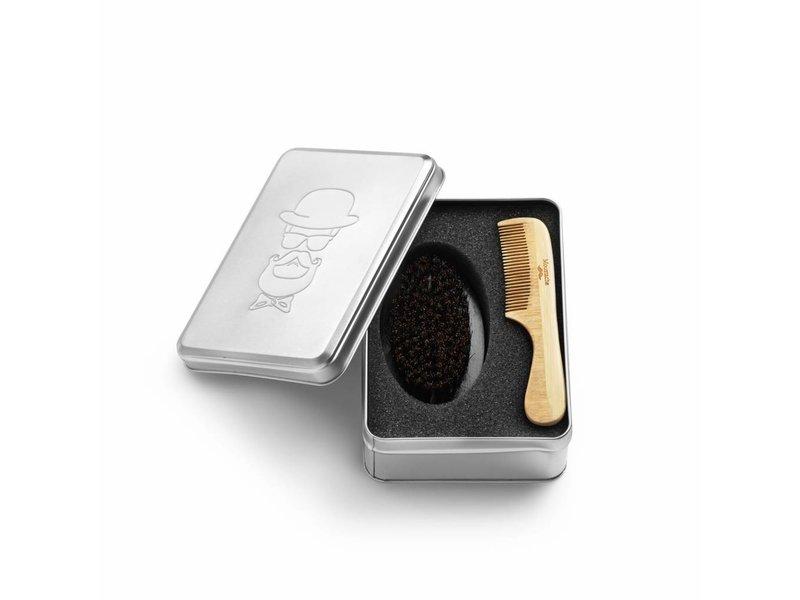 Bratt Trading Barber Kit Comb and Brush