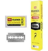 Feather  Double Edge Blades 200 Stuks Gele Verpakking