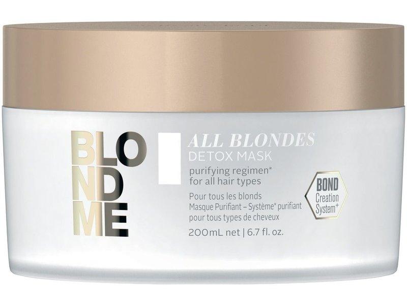 Schwarzkopf  BlondME All Blondes Detox Mask 200ml