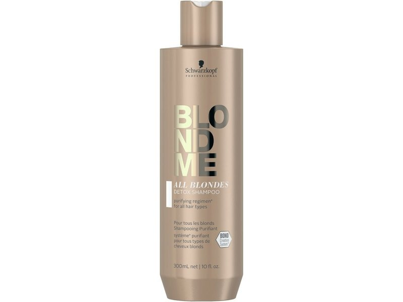 Schwarzkopf  BlondME All Blondes Detox Shampoo 300ml