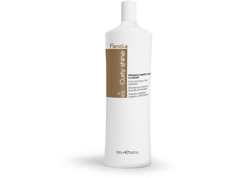 Fanola Curly Shine Shampoo 1000ml