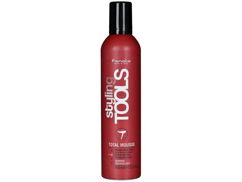Fanola Styling Tools Total Mousse Extra Strong Hair Mousse 400ml