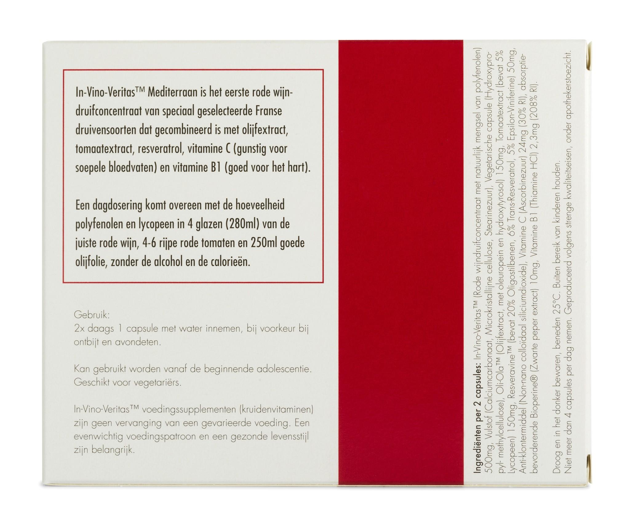 In-Vino-Veritas™ Mediterraan maandverpakking (excl. €4,50 verzendkosten)