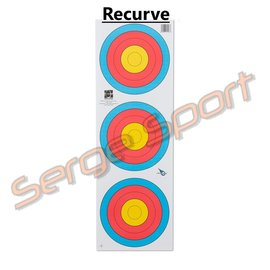 Avalon Fita 3×20 cm vertical Target Face 100 pieces