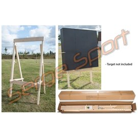 Avalon AVALON TARGET STAND DELUXE FULLY ADJUSTABLE - PINE WOOD