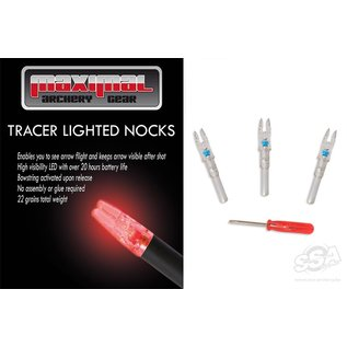 Maximal MAXIMAL LIGHTED TRACER NOCKS 3pck