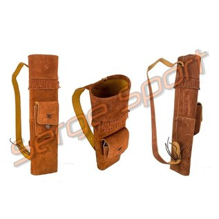 Buck Trail Buck Trail Traditional Quivers Indian Brown