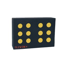 Eleven Targets Eleven Plus Target 70 x 100 x 20cm with 12 center 9.5cm