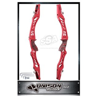 """TOPOINT KINETIC RISERS CNC UNISON 25"""" ANODIZED"""