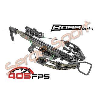 Killer Instinct Killer Instinct Boss 405Fps Pro Package Compound Crossbow Chaos Camo